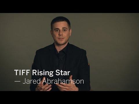 with JARED ABRAHAMSON  TIFF RISING STAR 2016