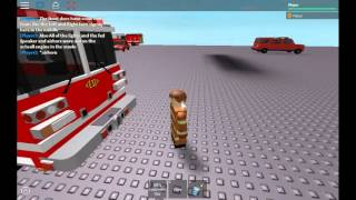 Engine 33 From The Movie Ladder 49 Replica Built By EVERYONEGOESHOME on ROBLOX