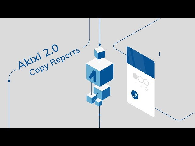 How to Use 'Copy Report' Feature in Akixi 2.0 | Supervisor Tutorial
