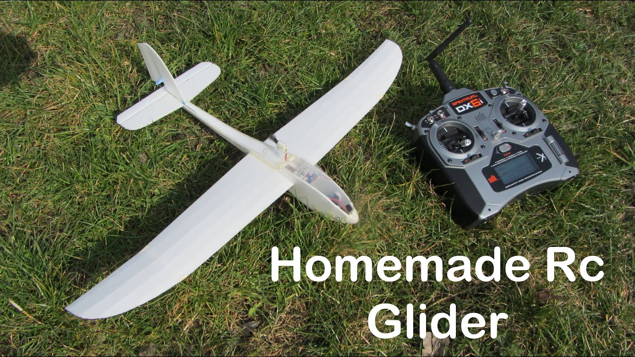 Homemade Mini Rc Glider La Mariposa Youtube