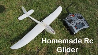 Homemade Mini RC Glider La Mariposa