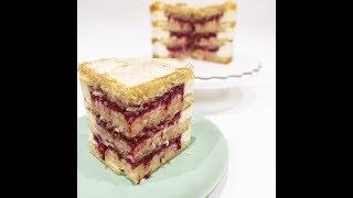 КОНДИТЕРСКАЯ ШКОЛА Занятие № 11 I Ягодный торт Миндальный бисквит