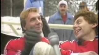 Christopher Dean Bob Sleigh Ride Sarajevo Olympics 1984