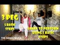 Learn Bhangra on 3 Peg with 5 Basic Steps | 5 Basic Steps | 3 Peg | wedding dance ,easy Bhangra