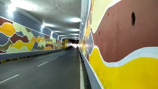Super Loud Benelli 300 And Benelli 600i Tunnel Fly-By EXIL Exhaust