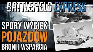 Wyciekły pojazdy i broń dla Battlefield V | Poprawione animacje | Megalodon?