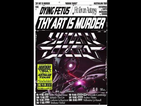 Thy Art Is Murder, Dying Fetus, Fit For An Autopsy Australian Tour rescheduled