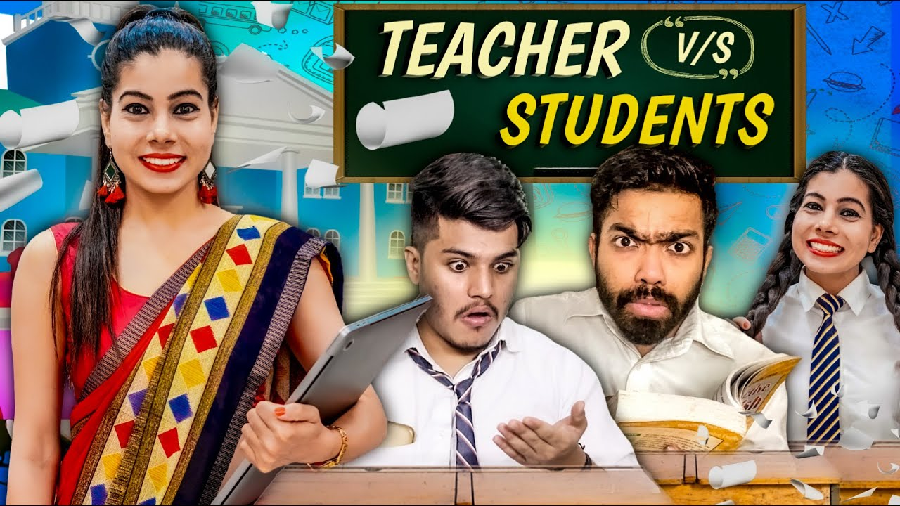 Teacher vs Students | Online School | Sanjhalika Vlog