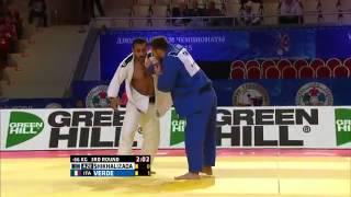 Elio Verde vs Nijat Shikhalizada World Judo Championships 2015 - Astana