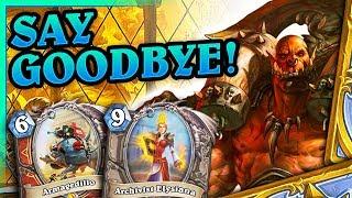 Say goodbye, doc! - Taunt Control Warrior - Hearthstone Deck (Saviors of Uldum)