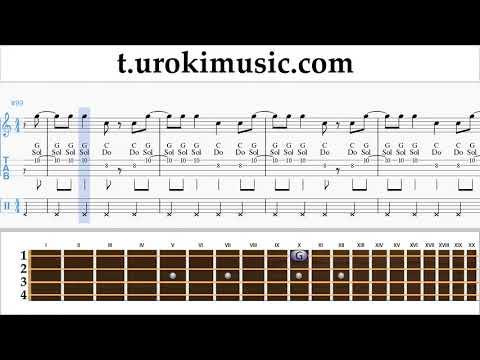 The Archer Sheet Music Ukulele - Taylor Swift The Archer Tutorial thumbnail