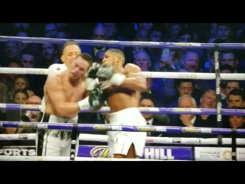 ANTHONY JOSHUA DEFEATS JOSEPH PARKER UNIFICATION FIGHT REPORT BY DBN