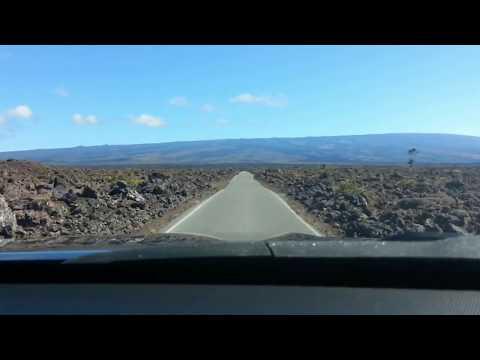 Mauna Loa Access Road Drive [Timelapse]