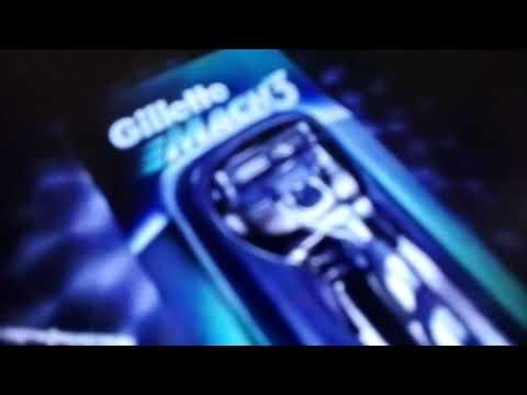 Реклама Gillette Mach3 2000