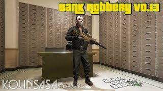 GTA 5 Bank Robbery v0.13 - Ограбление банка