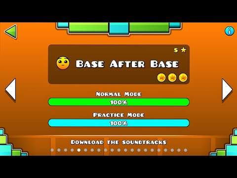 Geometry Dash - Base After Base (All Coins)