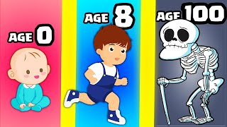 Growing a MAX LEVEL BABY to ADULT in Hyper Life