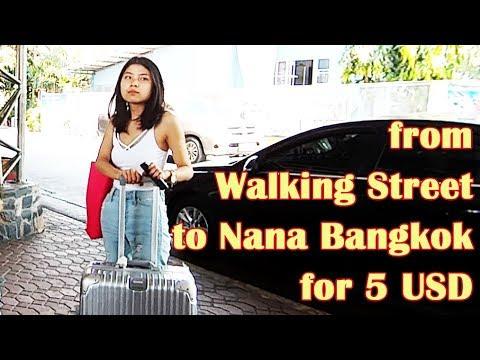Pattaya Walking Street To Bangkok - Cheapest Way