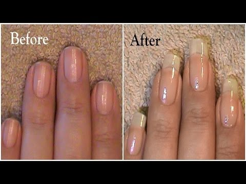 Going From Short Nails To Long Natural Nails 3 Month Nail Growth