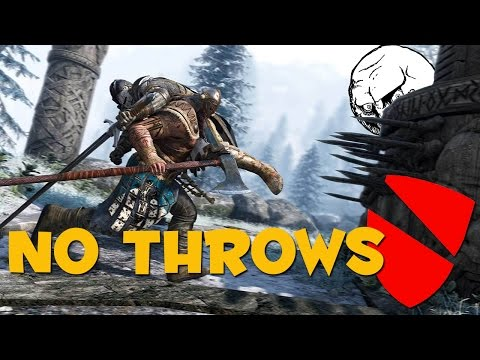 NO THROWING ALLOWED! - For Honor Challenge Mode