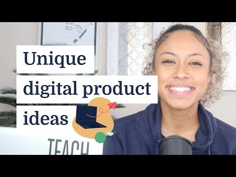 Unique digital product ideas for your niche