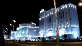 Иллюминация ночного Ашхабада (Night Ashgabat)(Такая красота вокруг, правда немного напрягает отсутствие вечером людей на улицах. Но это совсем новый..., 2012-09-26T12:54:28.000Z)