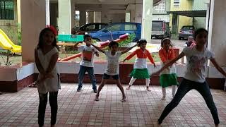 Dance By kids Fortune Garden Society