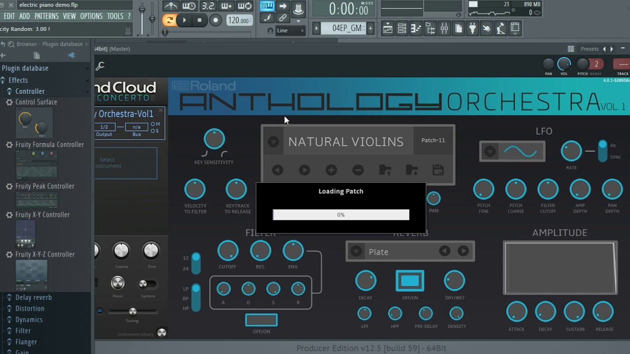 Roland Anthology Orchestra Vol  1 Vst