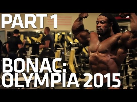 IFBB Pro William Bonac: The Road to Olympia. Part One