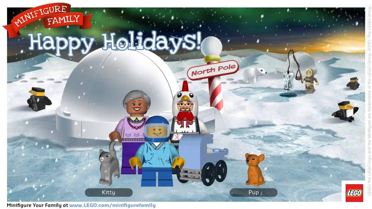Fun Family Card Creator LEGO Minifigure YouTube