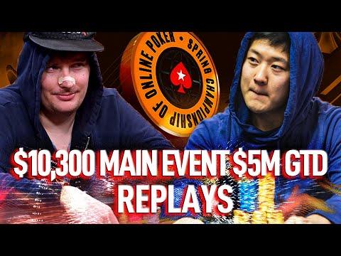 SCOOP 2021 ME $10,300 MissOracle | WATnlos | kZhh Final Table Main Event $5M GTD Poker Replays