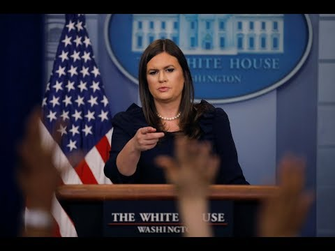 WATCH: Sarah Sanders, DHS Secy. Nielsen hold White House news briefing