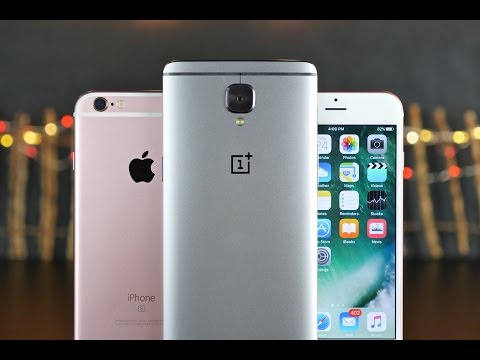 OnePlus 3 vs iPhone 6S Ultimate Comparison!