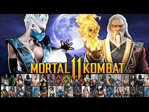 Mortal Kombat  - Full Character Roster Prediction! (+ Characters)