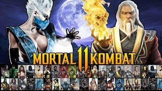 Mortal Kombat 11 - Full Character Roster Prediction! (30+ Characters)