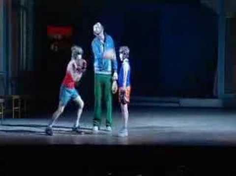 Backstage at Billy Elliot (Oct06)
