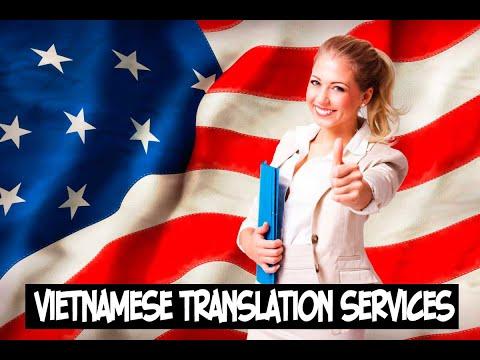 Vietnamese Translation Service - Certified Vietnamese Translations