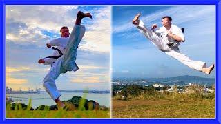 Taekwondo Training in NZ 🇳🇿 | GNT & Van Roon | Kicks & Flips