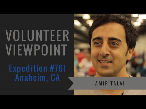 Actor Amir Talai Shares His Volunteer Experience with RAM