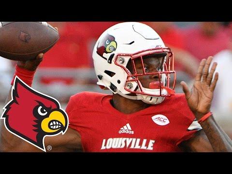 Lamar Jackson 8 TD vs. Charlotte | Louisville Record-Breaking Performance