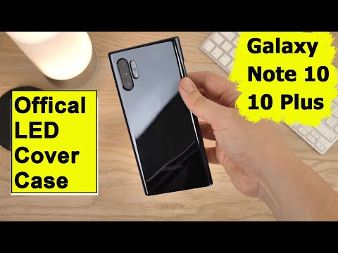 samsung-galaxy-note-10-/-note-10-plus-led-cover-original-case-review