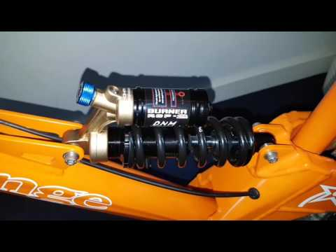 DNM Burner RCP2 Rear Coil Shock quick look over