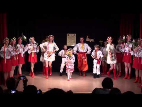 Fusion kreativt studie Ukrainsk dans