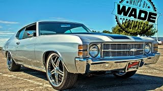 hhp shop visit 71 chevelle on staggered asanti wheels