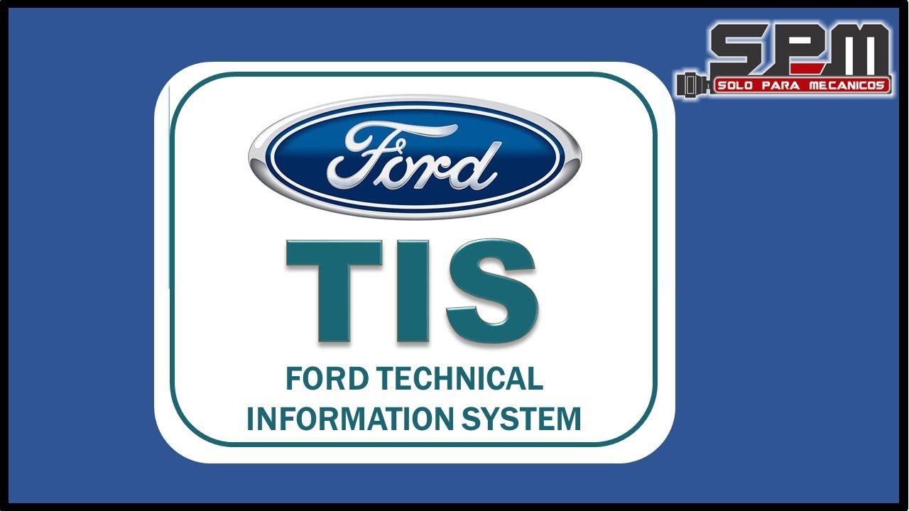 Tis Service Ford Workshop Manual Y Diagramas Electricos