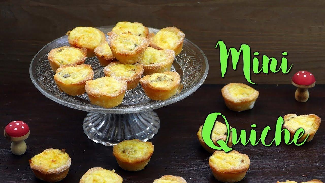 Mini Quiches Fingerfood Fürs Silvester Buffet Selber Machen