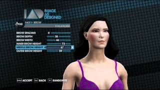 Create a Char ( Bruce Willis & Alodia Gosiengfiao) saints row 3