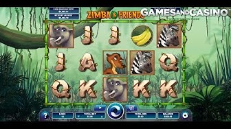 "New online casino slot ""Zimba and Friends "" (review)"