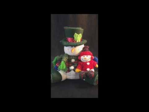 Avon Animated Snowman Surprise Top Hat Pop Up Musical Christmas Display