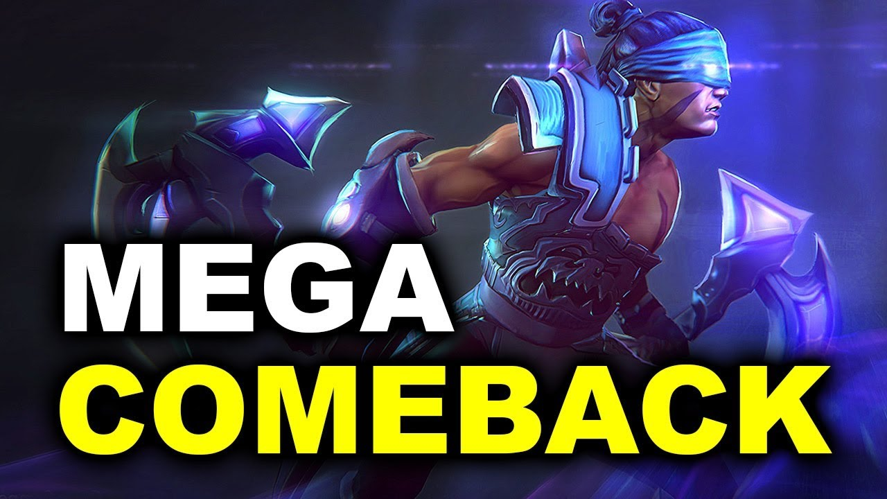MEGA COMEBACK! - RAMZES + FWD vs GAMBIT - WePlay Winter Madness DOTA 2